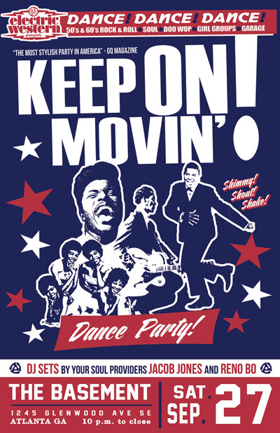 Keep On Movin! Rock n Soul Dance Party
